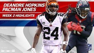 Download DeAndre Hopkins vs. Adam 'Pacman' Jones | Texans vs. Bengals | NFL Wk 2 Player Highlights Video
