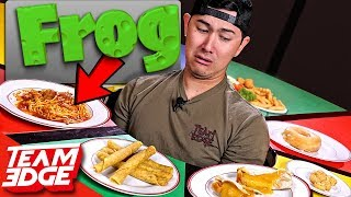 Download Eating Disgusting MYSTERY Ingredients in Normal Looking Food!! Video