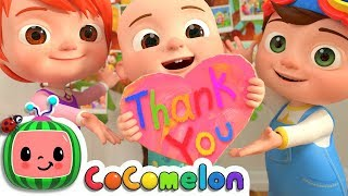 Download Thank You Song | CoCoMelon Nursery Rhymes & Kids Songs Video
