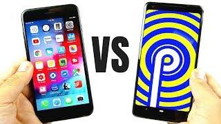 Download iOS 12 vs Android 9 Pie Comparison! Video