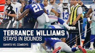 Download Terrance Williams Doesn't Get Out of Bounds, Clock Runs Out on Cowboys | Giants vs. Cowboys | NFL Video