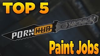Download Top 5 Paint Jobs in Black Ops 3 (EP. 8 Amazing Weapon Camos) Video