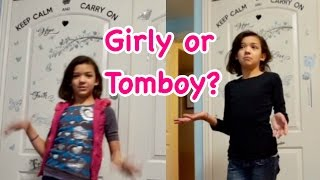 Download TOMBOY VS GIRLY GIRL - MORNING ROUTINE Video