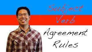 Download Subject Verb Agreement Rules (and Tricky Scenarios) - English Grammar Lesson Video