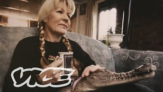 Download The Lady Who Lives With Crocodiles Video