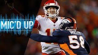 Download Von Miller Mic'd Up vs. Chiefs ″Y'all Boys Don't Play Madden?″ | NFL Films Video