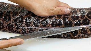 Download Japanese Street Food - GIANT MORAY EEL Sashimi Okinawa Seafood Japan Video