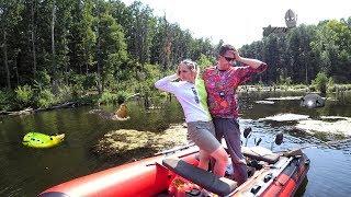 Download Ловля щуки на утёнка! Рыбалка с Агентом Z 🔪 Взял жену на рыбалку и что из этого вышло! Video