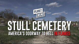 Download Stull Cemetery in Flames: Kansas' Gateway to Hell Literally On Fire Video
