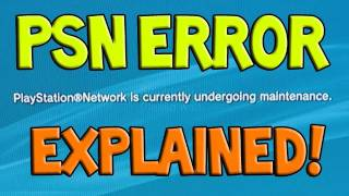 Download Why is PSN down? Hacked? - Playstation Network Maintenance Error 80710a06 (Sony) Video