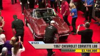 Download 1967 L88 Corvette Convertible Sells for Record $3.2 Million at Mecum Dallas. Video