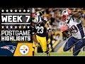 Download Patriots vs. Steelers | NFL Week 7 Game Highlights Video