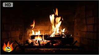 Download Burning Fireplace with Crackling Fire Sounds (Full HD) Video
