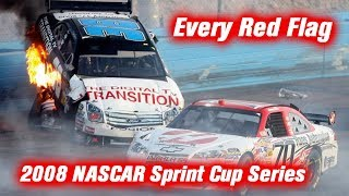 Download Every Red Flag: 2008 NASCAR Sprint Cup Series Video