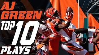 Download A.J. Green's Top 10 Plays of the 2016 Season | NFL Highlights Video