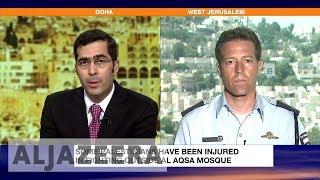 Download Israel police spokesman defends al-Aqsa security measures Video