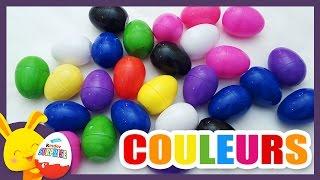 Download Compétition des couleurs - Oeufs surprises pour apprendre les couleurs - Titounis Video