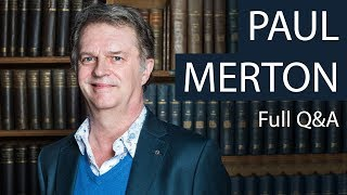 Download Paul Merton   Full Q&A at The Oxford Union Video
