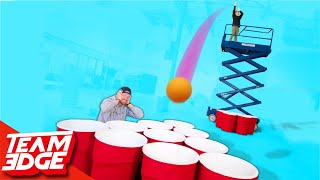 Download Giant Cup Pong With a Skylift! | Punishment edition!! Video