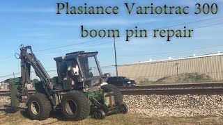 Download Repairing the only Variotrac 300 hyrail in the world. Video