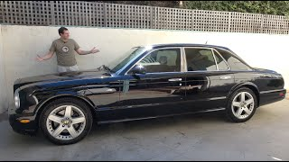 Download The Bentley Arnage Is the Ultimate $30,000 Luxury Car Video