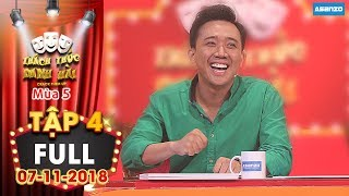 Download Thách thức danh hài 5 | Tập 4 full: Trấn Thành ″móc tiền túi″ vì cười thả ga giúp thí sinh thắng lớn Video