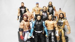 Download WWE Wrestlemania 33 Elite Figures Hardy Boys - AJ Styles - Rollins | WWE CUSTOM FIGURES Video