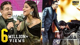 Download Kamal LIVE Singing with Shruti - A very emotional moment of Kamal & Shruti on stage! Video