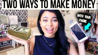 Download 2 WAYS TO MAKE MONEY WITH YOUR PHONE ! Video