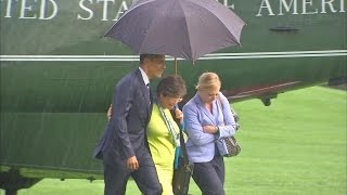 Download What Happens When Only President Obama Has an Umbrella? Video