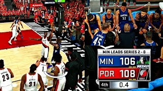 Download DOWN BY 20 POINTS! THE MOST AMAZING COMEBACK I'VE EVER SEEN! - NBA 2K17 MyCAREER Playoffs CFG3 Video