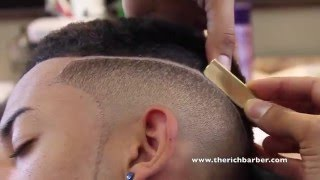 Download How To: Smooth Top Fade w/ Part | By: Chuka The Barber Video