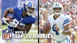 Download Top 10 Rookies Through Week 2 | Bucky Brooks on NFL Now Video