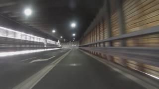 Download St Bernard Tunnel, Italy Switzerland Video