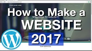 Download How To Make a WordPress Website - 2017 - SIMPLE! Video