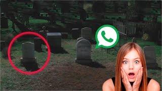 Download ارسلت فتاة رسالة واتس آب الي صديقتها من داخل مقبرة، وانتهي كل شيء هكذا.. Video
