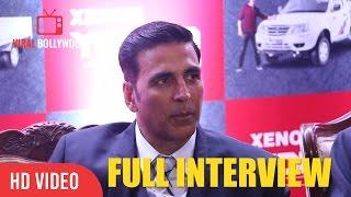 Download Akshay Kumar Full Interview | Unveiling Of Tata Xenon Yodha | Tata Motors Commercial Vehicles Video
