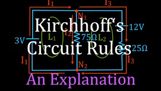 Download Kirchhoff's Rules (1 of 4) Circuit Analysis, An Explanation Video