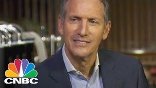 Download Howard Schultz Reflects On Starbucks Future (Full Interview) | Squawk Box | CNBC Video