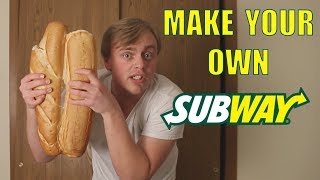 Download How To Make Your Own Subway Sandwich Video