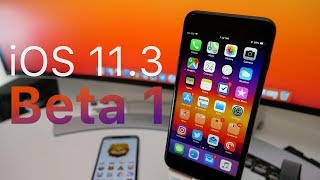 Download iOS 11.3 Beta 1 - What's New? (4K60P) Video