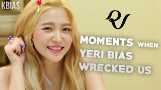 Download RED VELVET (레드벨벳) YERI - MOMENTS WHEN SHE BIAS WRECKED US Video
