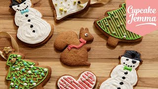Download Christmas Cookies - Cookie Collaboration | Cupcake Jemma Video