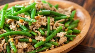 Download របៀបឆាសណ្តែក&ឆាត្រកួន|Long Bean Stir-fry with Pork and Pork&Tung Choi Stir fry Video