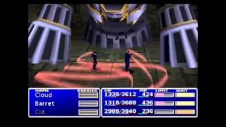 Download Final Fantasy VII (PSX) All Bosses Battles Video