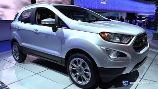 Download 2018 Ford EcoSport Titanium - Exterior and Interior Walkaround - Debut at 2016 LA Auto Show Video