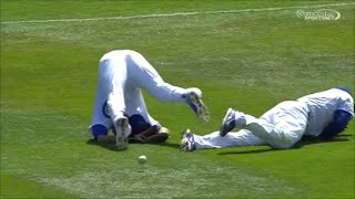 Download MLB Outfield Collisions Video
