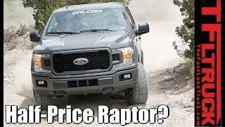 Download Can You Build a Half Price Ford Raptor with Falcon Shocks? Video