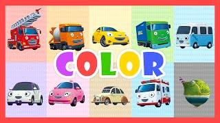 Download Color Song - Learn colors with Tayo the Little Bus Video