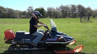 Download Yamaha VK1000 Turbo drag sled build ep # 5!! Test run. Video